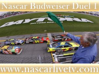 Nascar Sp Cup Budweiser Duel 2 Race Live Streaming
