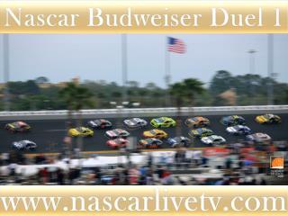 Nascar Budweiser Duel 2 Race 19 feb 2015