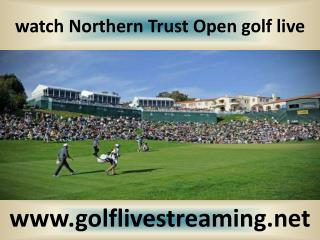 Watch live Northern Trust Open Golf