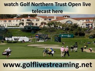 watch Northern Trust Open Golf 2015 live
