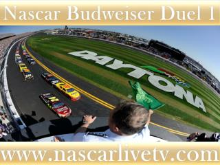 Nascar Sp Cup Budweiser Duel 2 Race 19 feb 2015