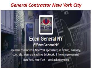 General Contractor in New York
