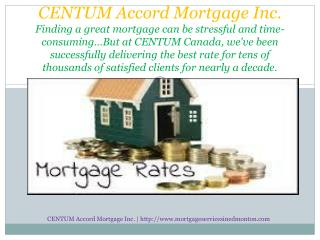 30 year fixed mortgage rates in Edmonton