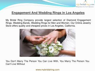 Buy Diamond Engagement Rings from MyBridalRing