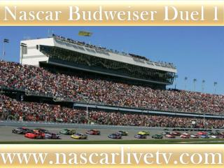 watch Budweiser Duel 2 at Daytona live coverage
