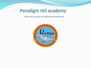 Paradigm ias academy