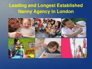 Professional And Experienced Nannies In UK