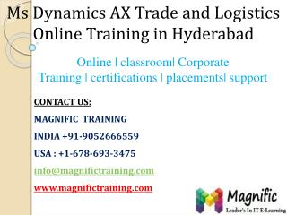 ms dynamics ax tl online training in hyderabad