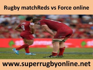 Rugby matchReds vs Force online