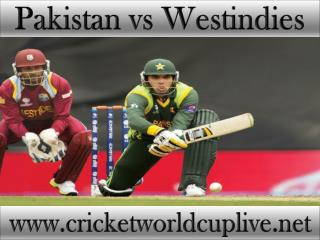 how to watch Pakistan vs West indies online cricket match on