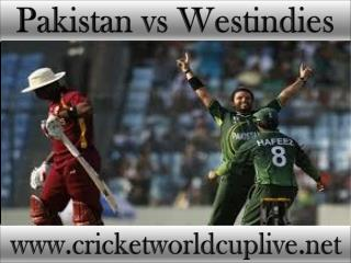 stream package for live cricket watching Pakistan vs West in