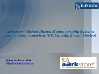 Aarkstore - Market Digest: Mammography Systems 2006 to 2020