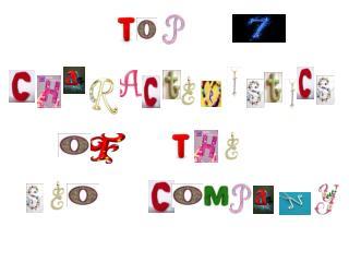 Top 7 Characteristics of the Best SEO Company