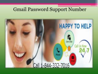 Gmail Tech Support 1-844-332-7016 for Gmail account problem
