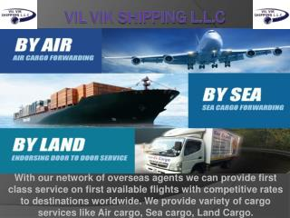 Best Shipping & Logistics Services | Vil Vik Shipping L.L.C
