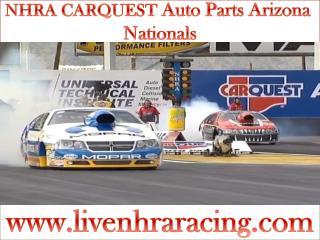 2015 NHRA CARQUEST Auto Parts Arizona Nationals live