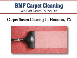 Carpet Steam Cleaning In Houston, TX