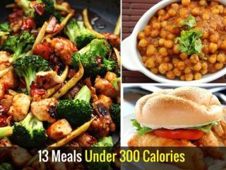 13 Meals Under 300 Calories