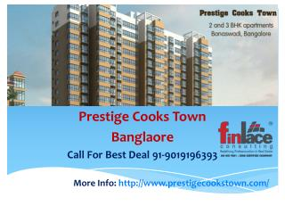 Prestige Cookstown | Price List | Reviews | Pre Launch