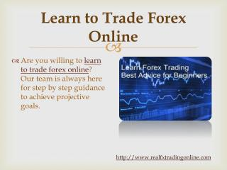 Forex Home Study Course