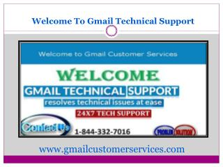 Gmail Customer Services Provides Technical Support
