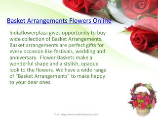 Flowers arrangement by IFP