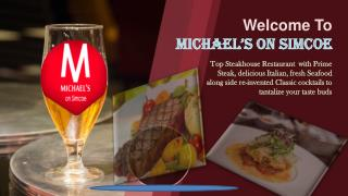 Top Steakhouse Restaurant  with Steak, Italian & seafood.