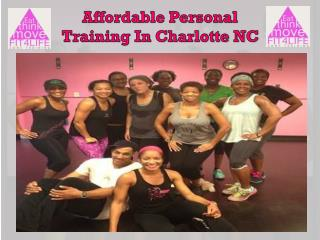 Affordable Personal Training In Charlotte NC