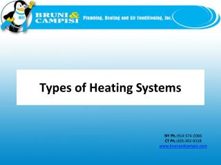 Slide: Types of Heating Systems