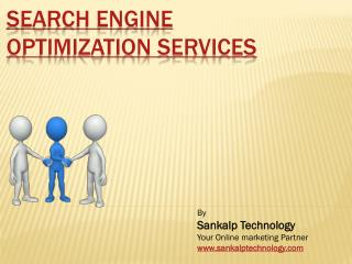 Search Engine Optimization Services - Popularize Your Brand