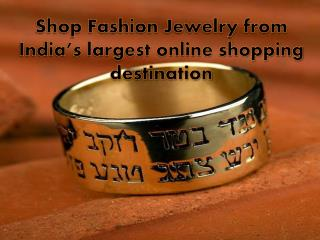 Shop Fashion Jewelry from India's largest online shopping de