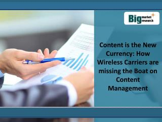 Content is the New Currency: How Wireless Carriers are mis