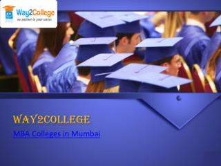 Top MBA colleges in Mumbai