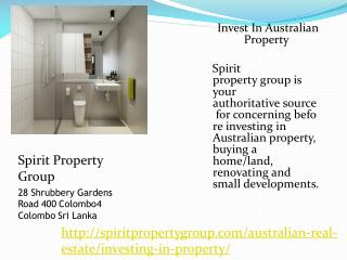 Invest Property In Australia