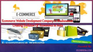 Evolution Of  Ecommerce In India