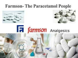 Farmson- The Paracetamol People