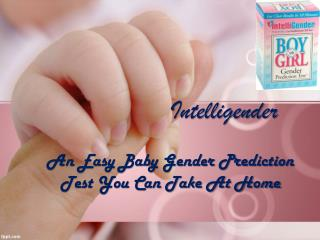 An Easy Baby Gender Prediction Test You Can Take At Home