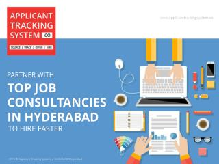 Partner with top job consultancies in Hyderabad to Hire fast