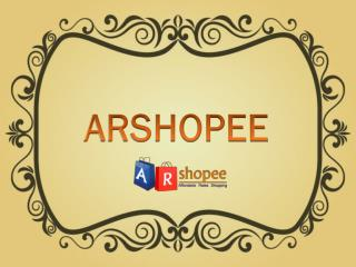 A R Shopee - Online Shoping store