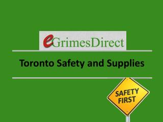 Toronto Safety and Supplies