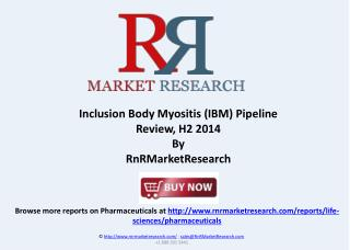 Inclusion Body Myositis Pipeline Review H2 2014
