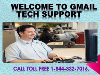 Call Gmail customer services helpline number 1-844-333-7016