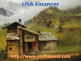 Home Loans in USA