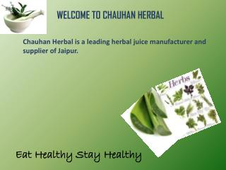 Benifit of Herbal Products