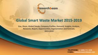 Global Smart Waste Market 2015-2019