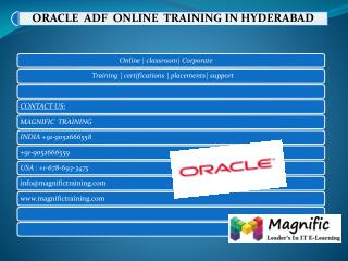 oracle adf online training in uk