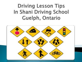 Driving School in Guelph
