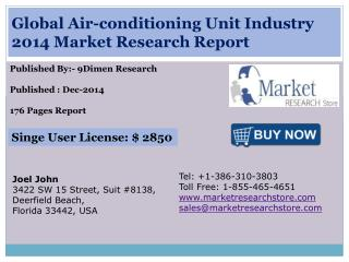 Global Air-conditioning Unit Industry 2014 Market Research R