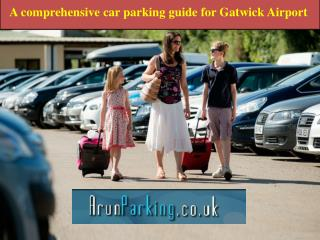 A comprehensive car parking guide for Gatwick Airport
