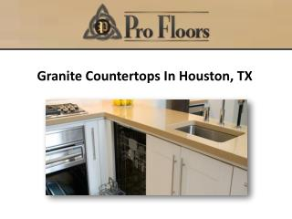 Granite Countertops In Houston, TX